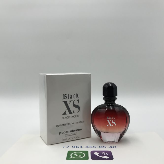 Тестер PACO RABANNE Black XS L'EXCES for Her