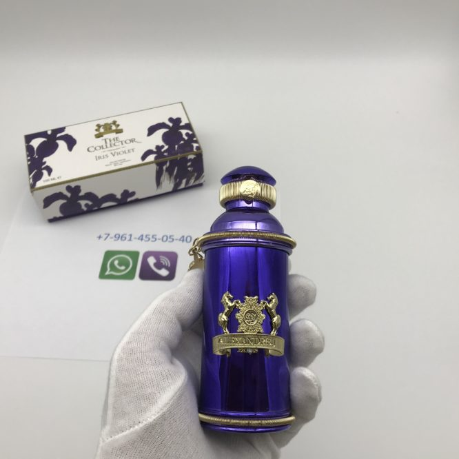 Alexandre.J The Collector Iris Violet